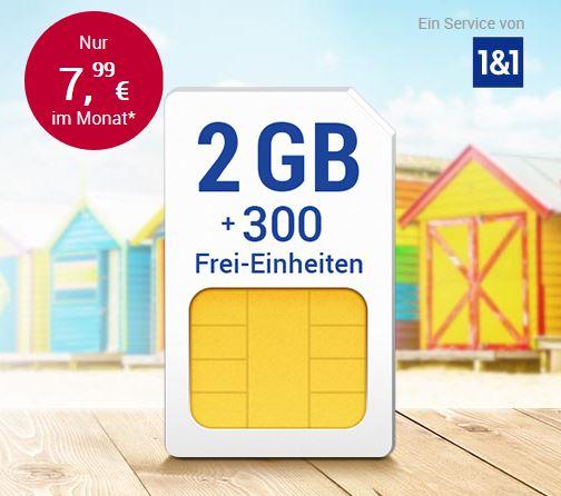 wieder da: All-Net & Surf im D2 Netz [1&1 / GMX / web.de]