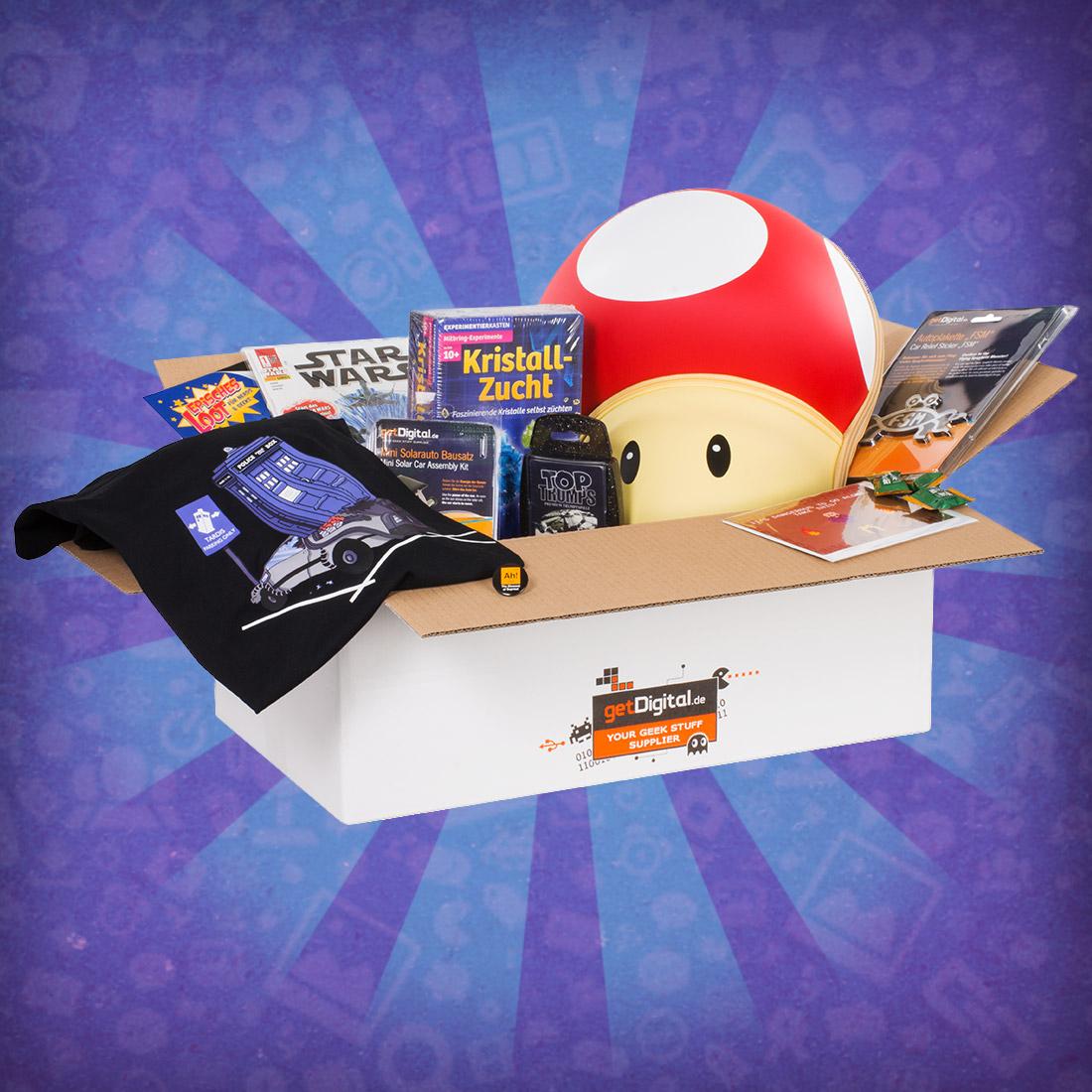 Lootbox mit mind. 10 Artikeln - August