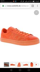 adidas Originals Court Vantage Sneaker Orange, Größe 38-48 2/3, outlet46