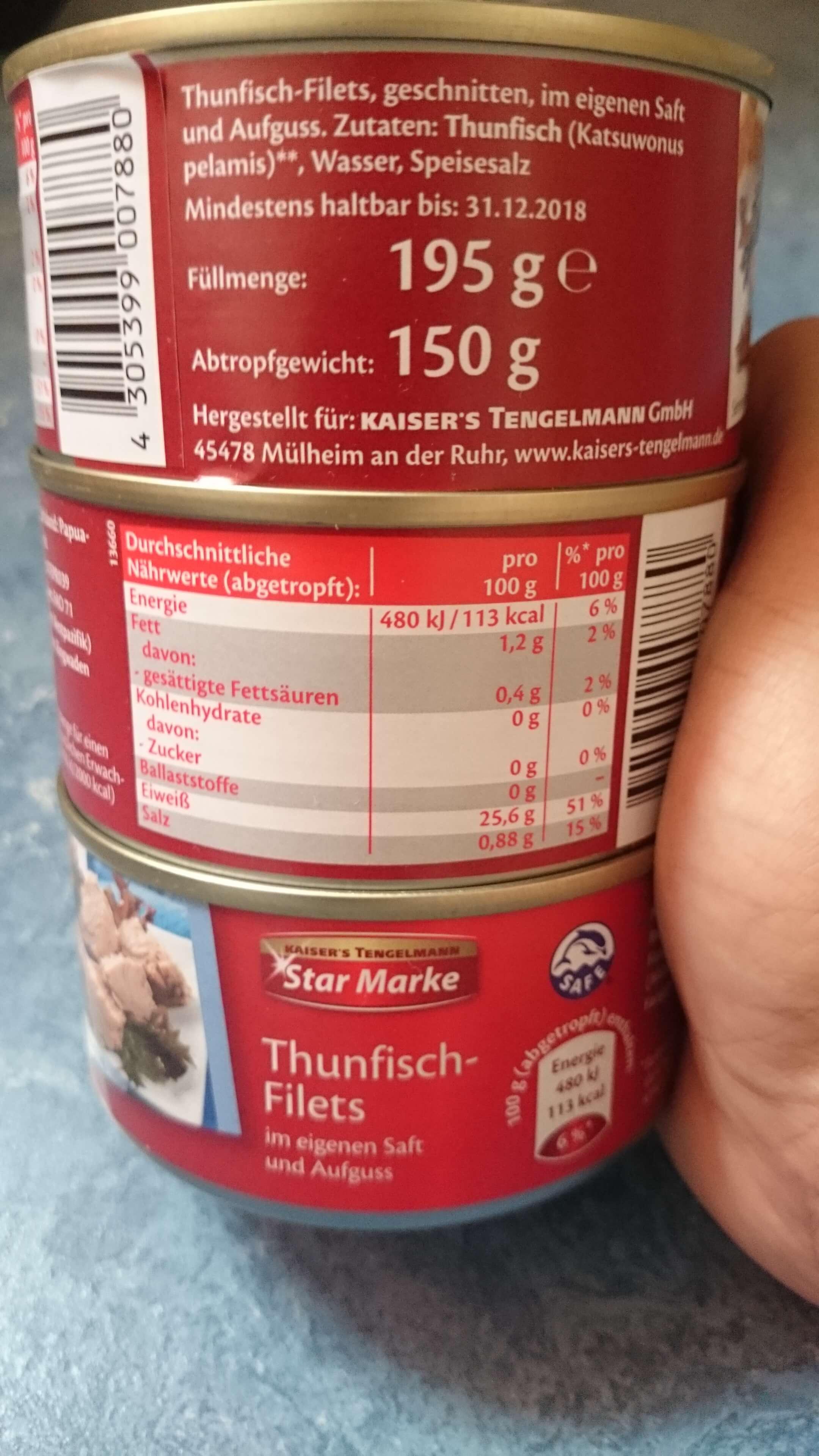 Berlin Lichtenberg Edeka Thunfisch für 0,79€
