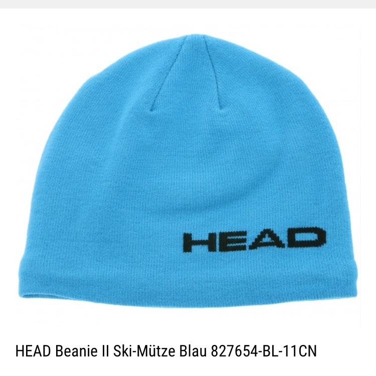 HEAD Beanie II Ski-Mütze Blau/Grau/Grün/Violett bei Outlet46