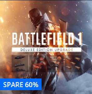 (PS4) Battlefield 1 Deluxe Edition Upgrade für 9,99€