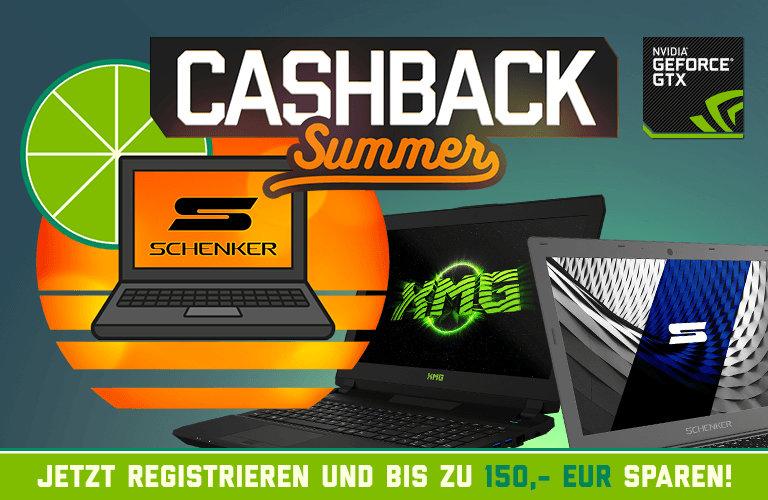 Schenker Cashback Summer 2017