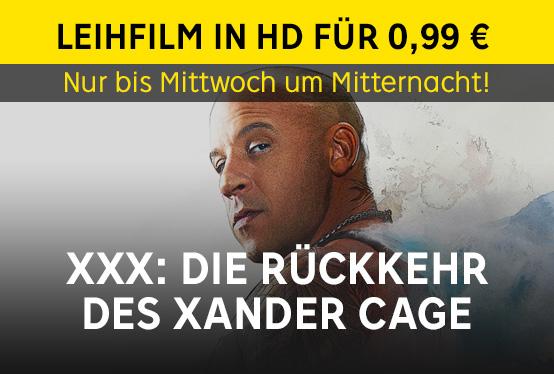 [Rakuten TV] XXX: Die Rückkehr des Xander Cage für 99 Cent leihen
