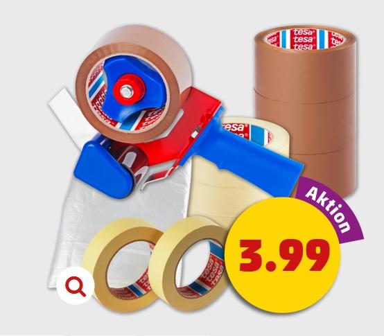Tesa Pack Abroller + 1 Rolle Tesa Packband für nur 3,99€ ab 3.08 bei Penny