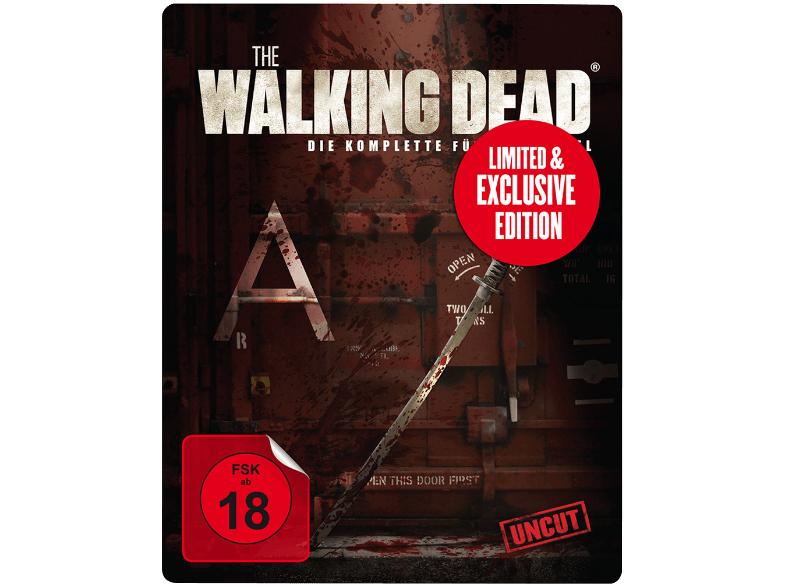The Walking Dead - Staffel 5 - Limited Weapon Steelbook (Uncut Edition Media Markt Exklusiv) [Blu-ray]