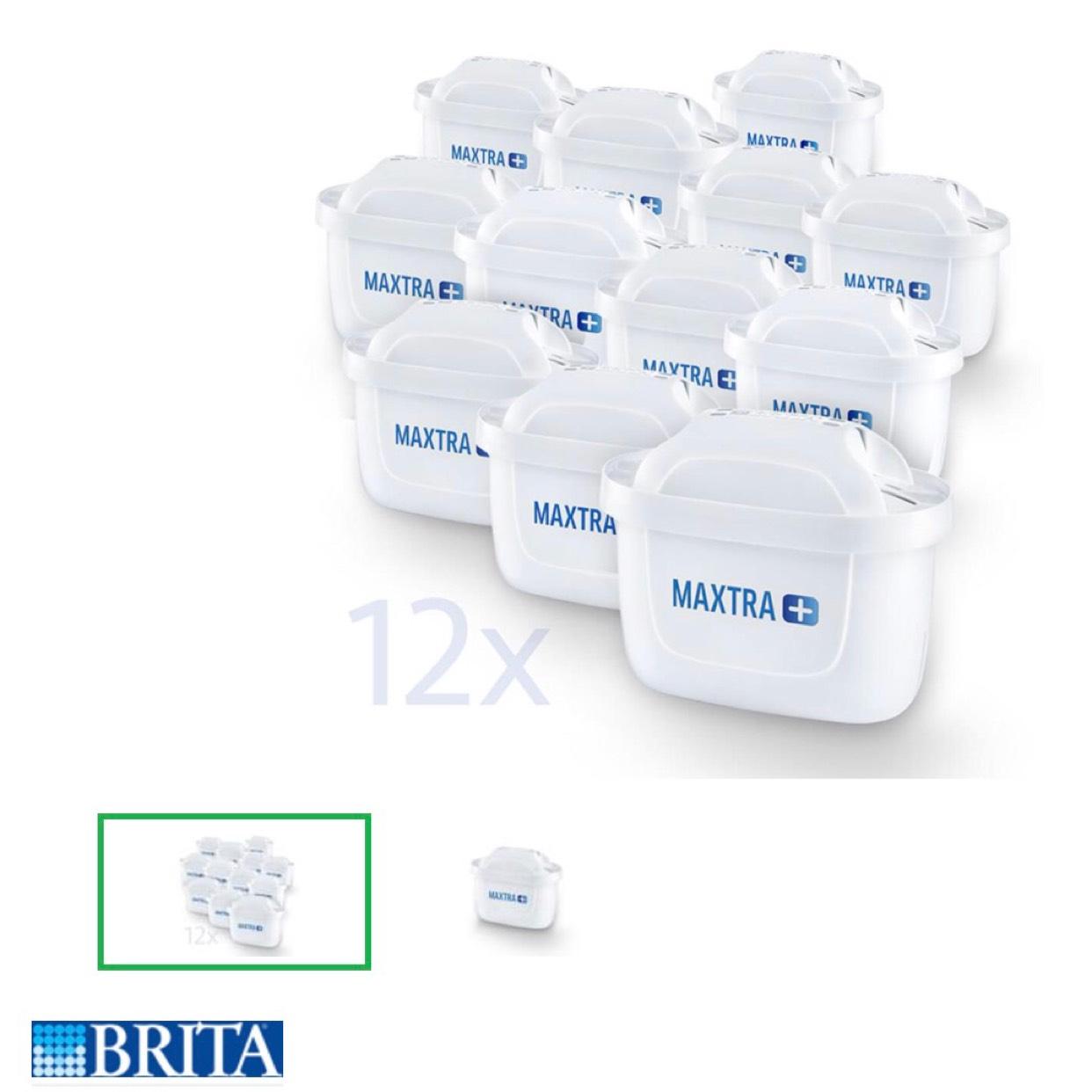 (Real online) Brita maxtra+ Wasserfilter 12er Pack zum Sparpreis