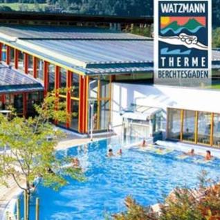 Tageseintritt für 2 Personen in der Watzmann Therme Berchtesgaden für 28,50€