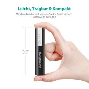 [my-electronic] RAVPower Powerbank 3350mAh für 10,98 €