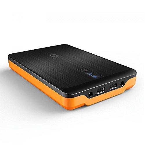 Powerbank mit 32000mAh und LCD Display für Handys/Laptops (amazon.fr)