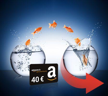 40€ Amazon Gutschein für Strom oder Gasanbieterwechsel bei Verivox
