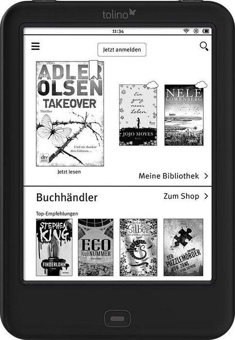 beleuchtete Ebook-Reader von Tolino als B-Ware (mit 24M Gewährleistung) im Angebot bei [Thalia] - z.B. Tolino Shine 2 HD für 59,90€