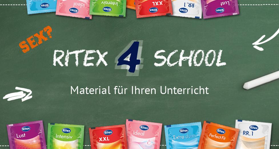 Ritex Kondome - gratis Schulpaket