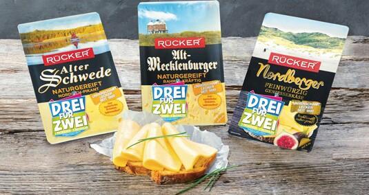 Rücker Käse - Neue 3für2 Aktion