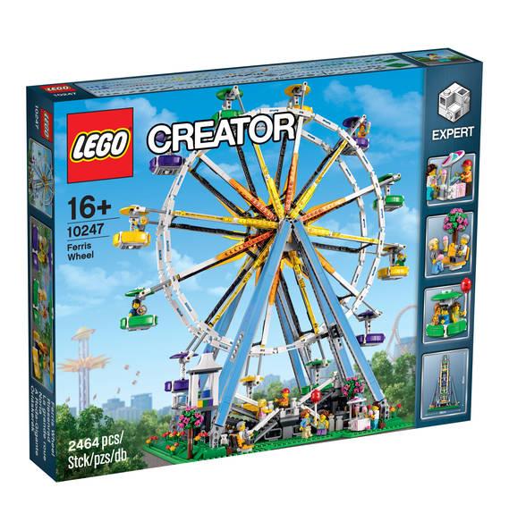 Bis zu 21€Rabatt durch Payback auf Lego: z.B. Lego 10247 Riesenrad (Ferris Wheel) *Bestpreis?* [Galeria Kaufhof]