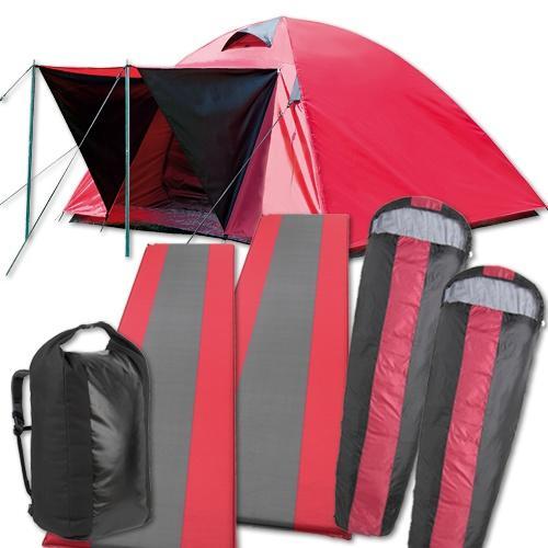 High Colorado Festival Pack (1x Zelt & Rucksack + 2x selbstaufblasbare Isomatte & Schlafsack) durch Groupon Deal bei sc24.com für 68,97 EUR