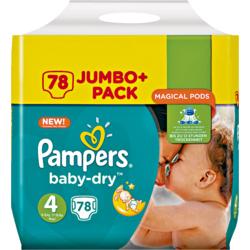 Pampers BabyDry JumboPack Gr. 3 und Gr. 5 (Auslaufmodel) nur 7,11€ bei Rossmann