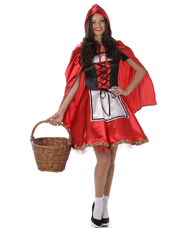 Rotkäppchen Kostüm für Damen Taille L für 6,83€