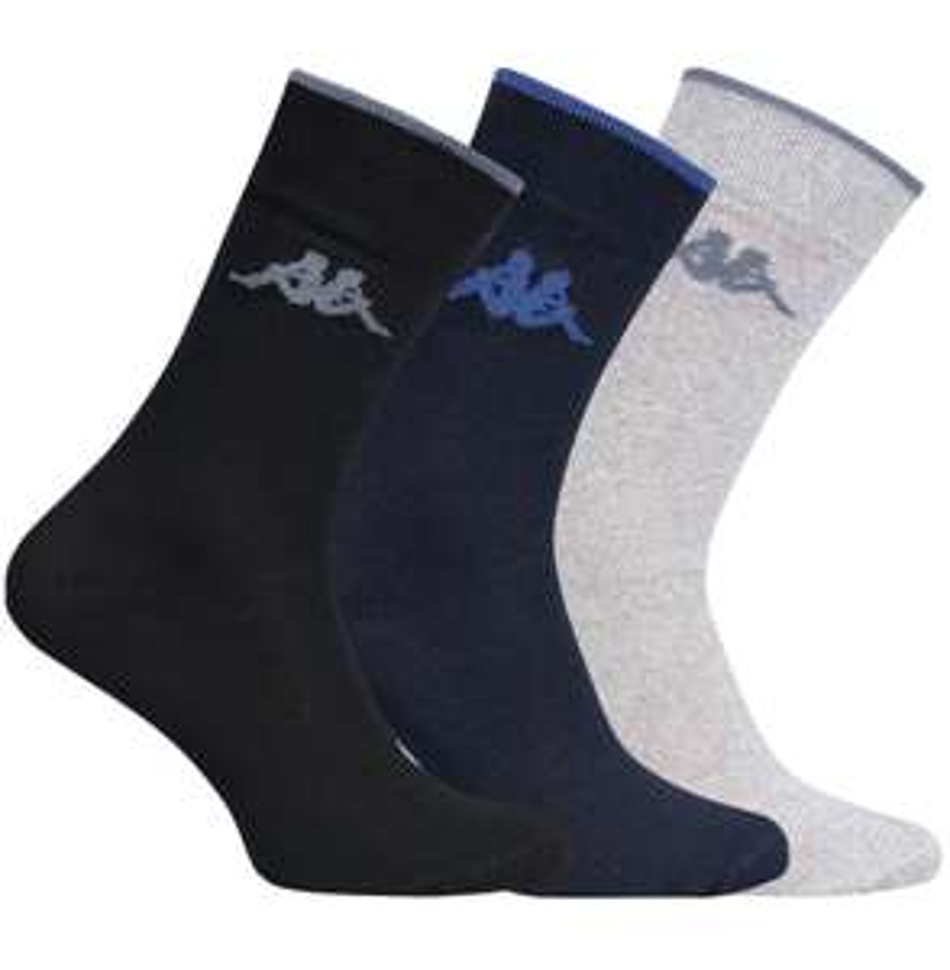 20er Pack Kappa Herren Socken (705047) in verschiedenen Farben für 14,99€