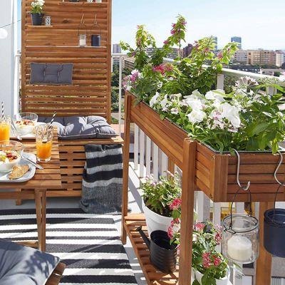 depot balkon und gartenm bel reduziert z b sonnernschirm mit integrierter led beleuchtung f r. Black Bedroom Furniture Sets. Home Design Ideas