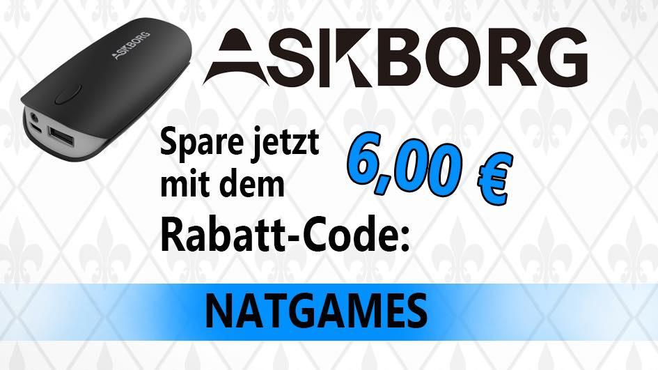 Askborg 5200mAh Powerbank für nur 5,99€