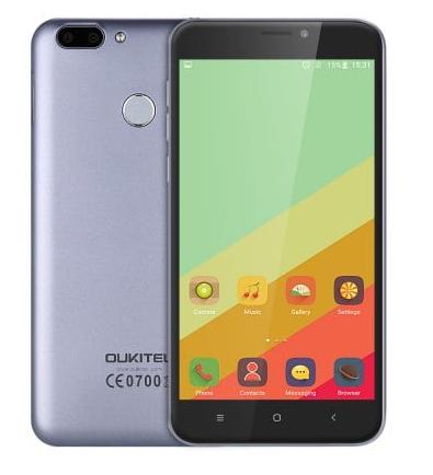 """Oukitel U20 Plus: 5,5"""" FHD IPS, LTE + Dual Sim, 4x 1.50GHz, 2GB RAM, 16GM ROM, 13 MP Kamera, 3300mAh, Fingerabdrucksensor, Android 6 für 83,39€ (Gearbest)"""