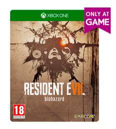 Resident Evil 7 Biohazard (Xbox One) Steelbook Edition für 42,57€ (Game.co.uk)