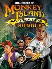 The Secret of Monkey Island: Special Edition & Monkey Island 2 Special Edition: LeChuck's Revenge für je 1,93€ [Steam] [Gamesplanet]