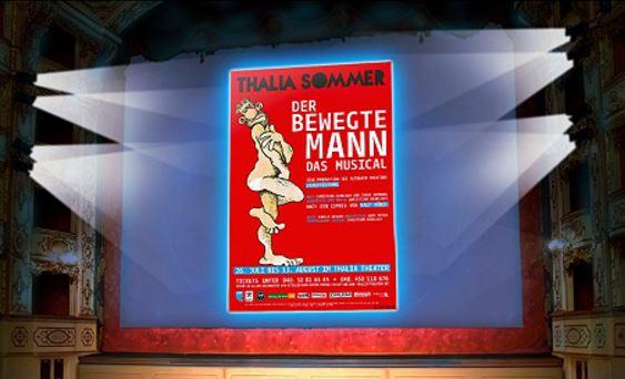 DER BEWEGTE MANN - MUSICAL & YAMATO in Hamburg zum halben Preis bei vente privee