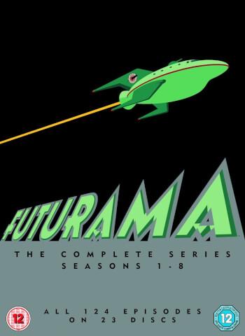 [Zavvi] Futurama - Staffel 1-8 Boxset mit englischer Tonspur auf DVD für 24,15€