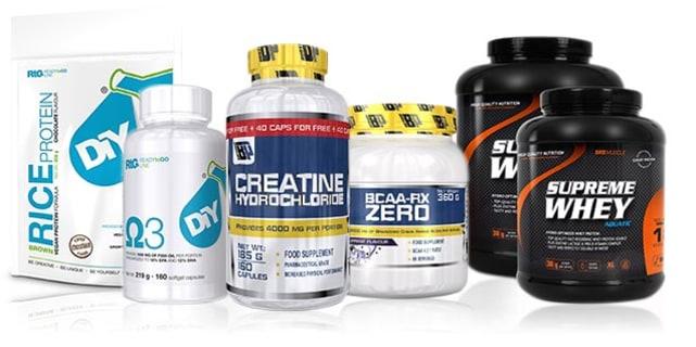 50% Rabatt auf Wertgutschein + 20% Extra-Rabatt auf Sportler-Supplements bei FH-Nutrition