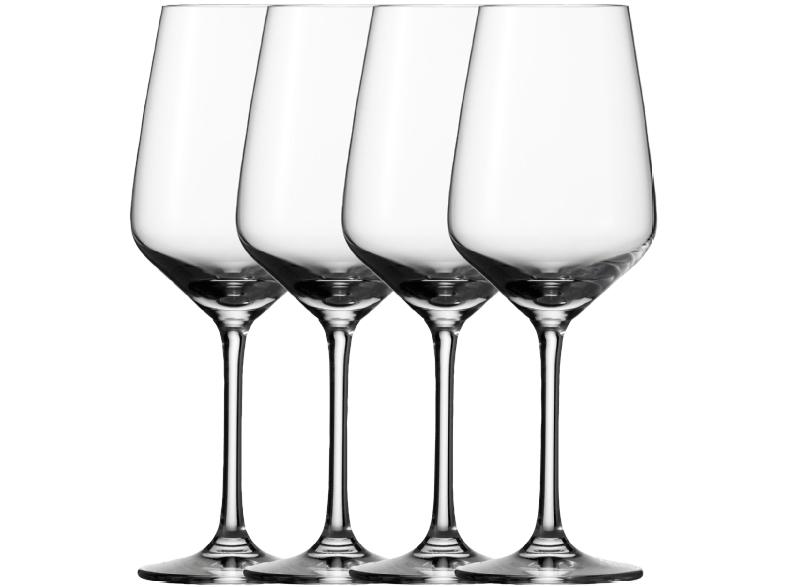 Einige günstige Vivo Gläser-Sets bei Media Markt, z.B. Vivo Voice Basic Weißwein-/Rotwein-/Sektgläserset 4-tlg. für je 8€