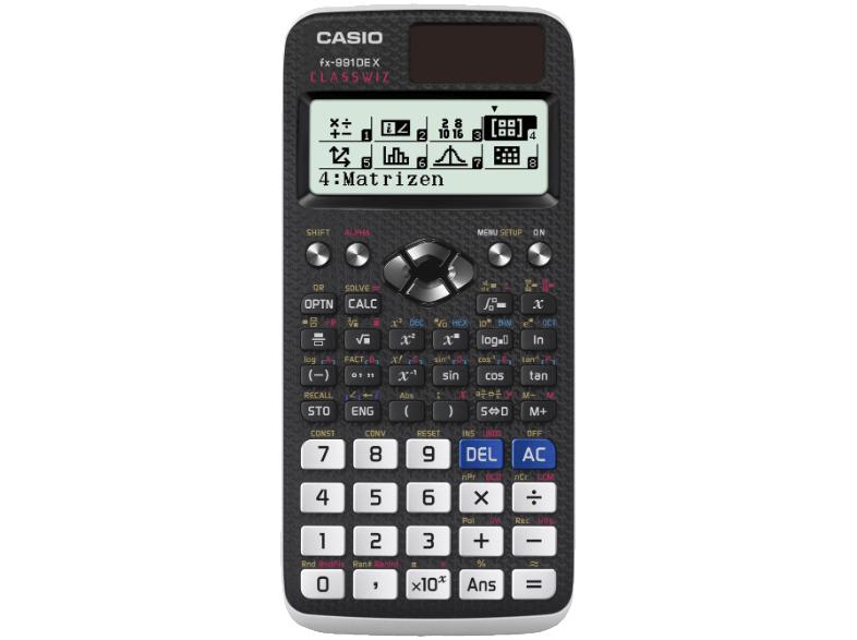 Casio FX-991DE X wissenschaftlicher Taschenrechner für 19€ [Mediamarkt + Amazon]