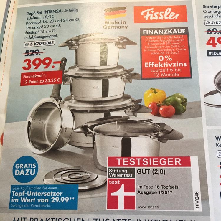 Mega Angebot Testsieger Topf Set Intensa 5-Teilig