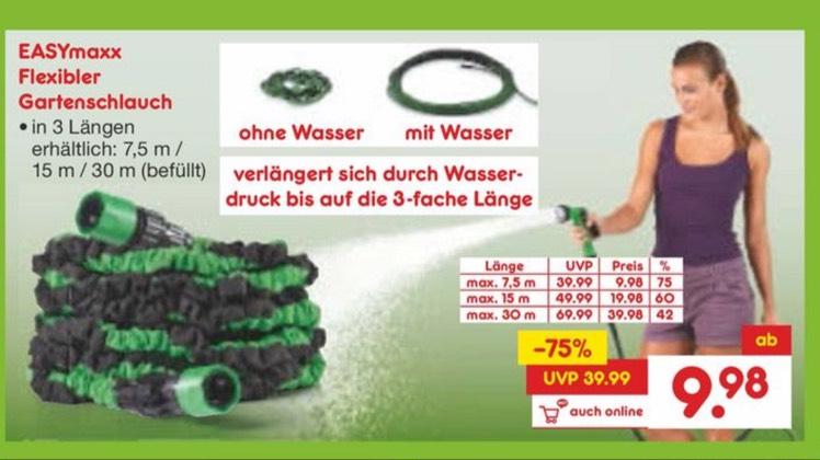 EASYmaxx Gartenschlauch ab 9,98€