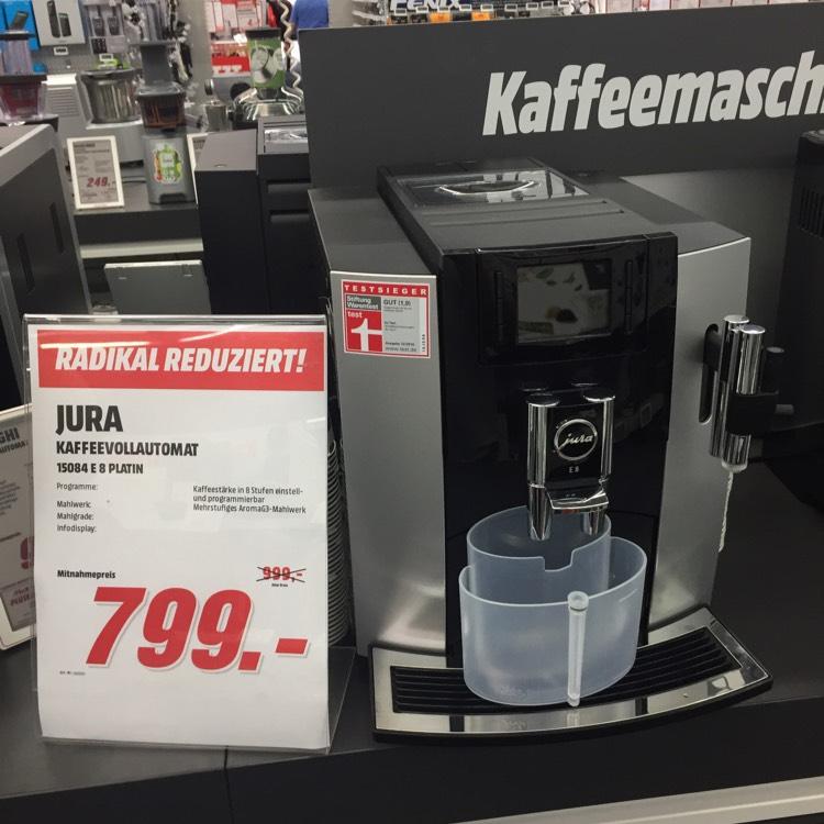 *lokal Bochum MediaMarkt* Jura E8 Kaffeevollautomat