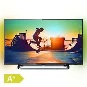 Philips 55PUS6262 Ambilight TV (55'' UHD Edge-lit Dimming HDR, 2seitiges Ambilight, 900Hz [interpol.], Triple Tuner, 3x HDMI, 2x USB, LAN + WLAN mit Smart TV, VESA, EEK A+) für 599€ [Ebay]