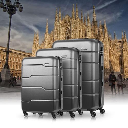 Lovdock - TOMSHOO Luxury 3 teiliges Hartschale Kofferset für 52,78 Euro