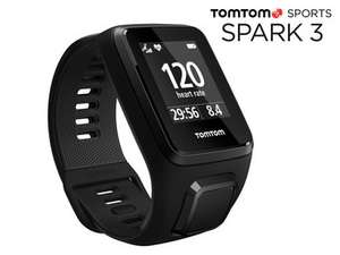 TomTom Spark 3 Cardio, 24/7 Aktivitäts-Tracking, Multisport-Modus, Routenfunktion (IBOOD)