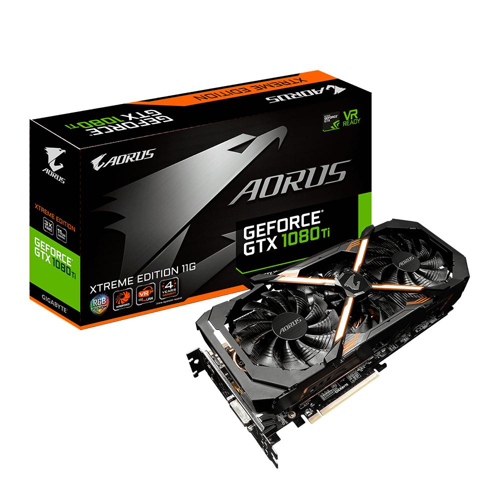 Giga Byte AORUS GeForce GTX 1080 Ti Xtreme Edition 11G