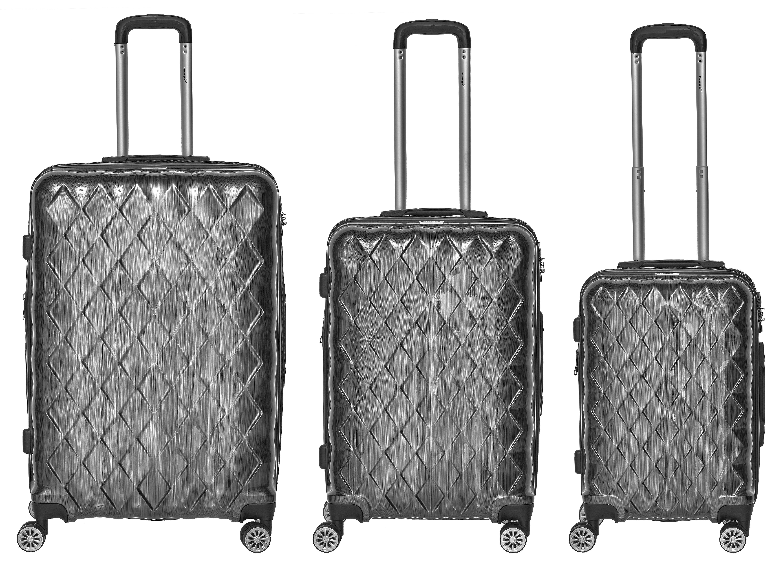 Packenger Atlantic 3er-Set - Hartschalen-Koffer aus Polycarbonat