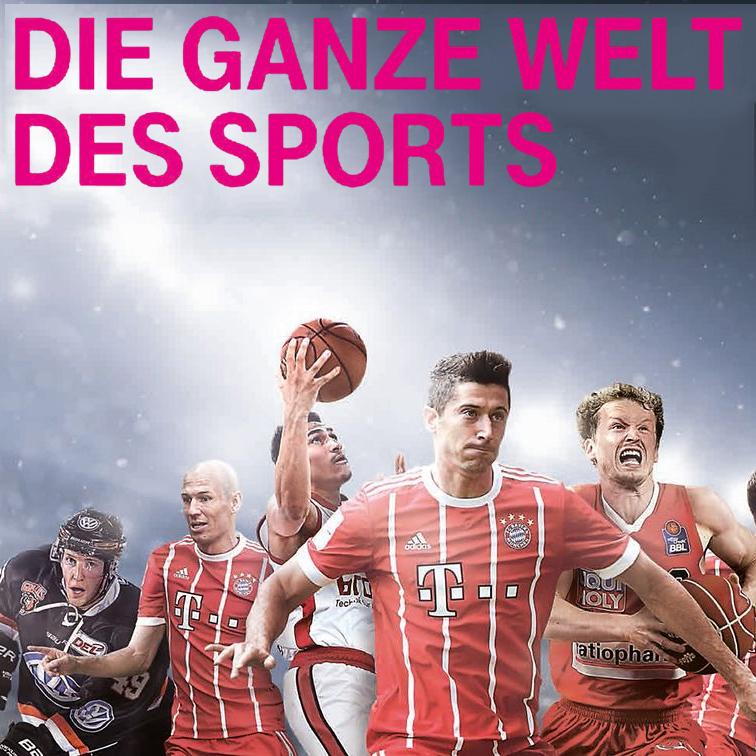 [Für Telekom Entertain Kunden] Telekom Sport: Sky BuLi & CL Konferenz + HBL, BBL, DEL, 3. Liga für 9,95€ / Monat