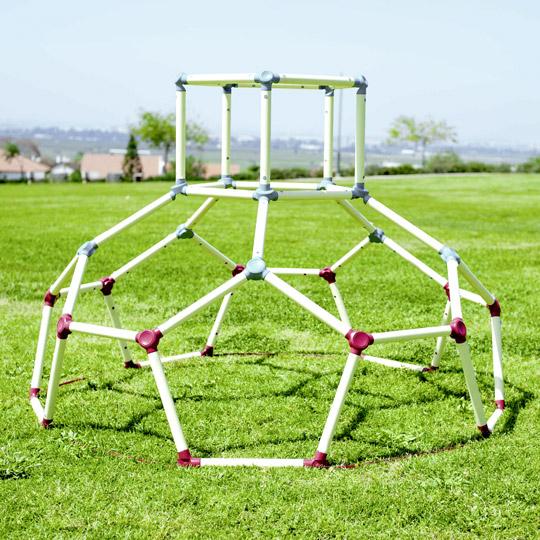 [real] beluga Spielwaren - Klettergerüst Dome Climber, Outdoor Spielgeräte (Stecksystem, ab 3 Jahre, max Belastung 80kg, TÜV Siegel)