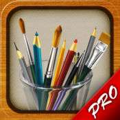 [iOS] MyBrushes Pro - Sketch, Paint and Draw kostenlos statt 3,49€