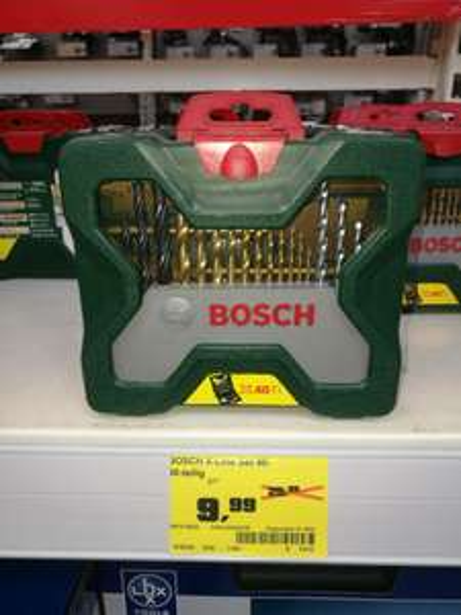 (Lokal OBI Naumburg) Über 61% Rabatt - Bosch Bohrer/-bitsatz X40Ti
