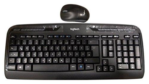 Logitech Wireless Combo MK330 - schnurlose Tastatur und Computermaus 14€