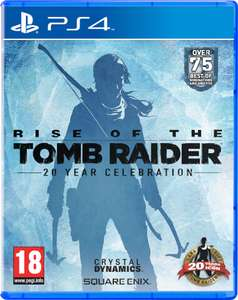Rise of the Tomb Raider: 20 Year Celebration Edition (PS4) für 23,55€ (Zavvi)