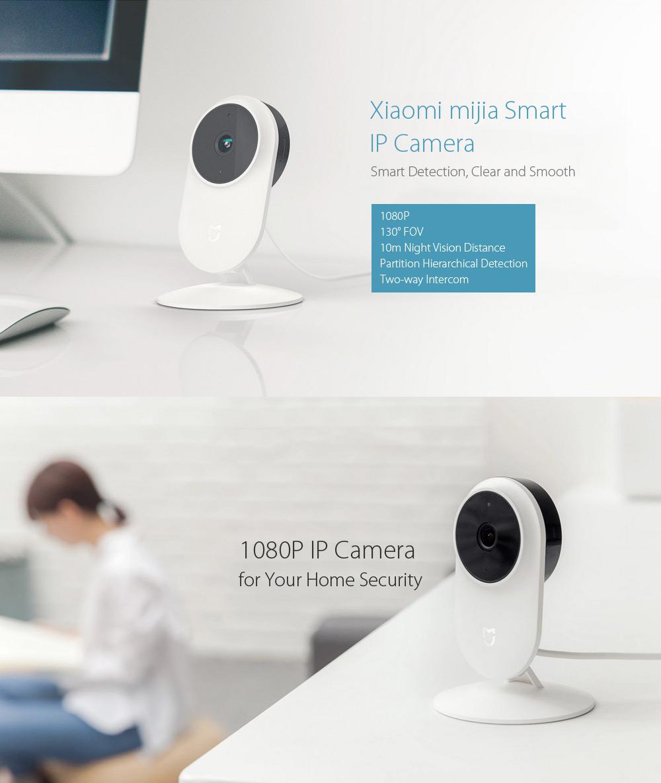 GEARBEST- Xiaomi mijia 1080P Smart IP Camera