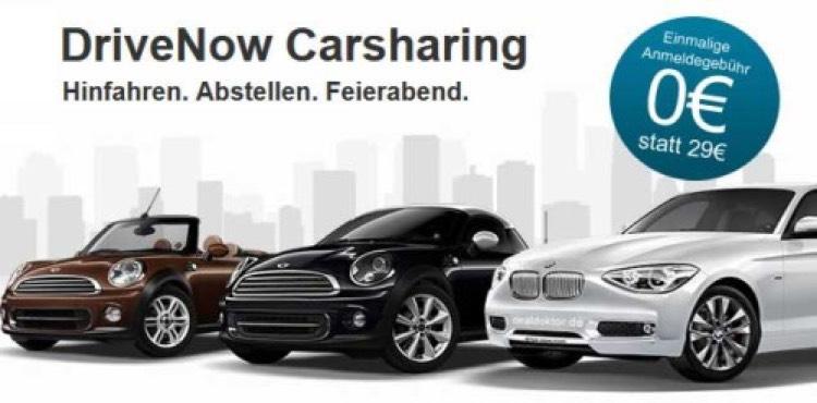 Drive Now Kostenlose Anmeldung vor Ort