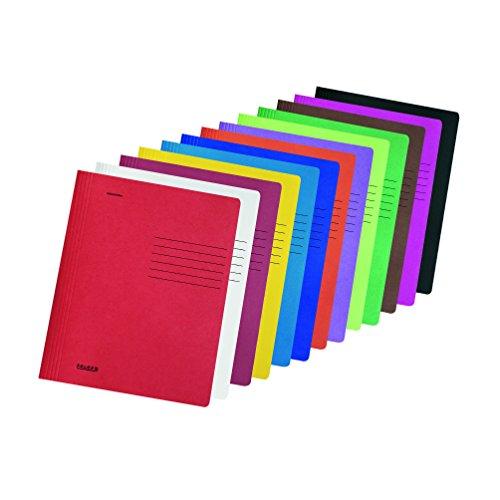 Amazon Plus produkt oder DVD Trick: Falken Schnellhefter Intensivfarben aus Recycling-Karton für DIN A4 kaufmännische und Behördenheftung schwarz Blauer Engel Hefter ideal für Büro und Schule